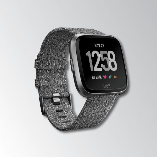 FitBIT Versa Charcoal Image 1
