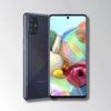 Samsung Galaxy A71 Black Image 4
