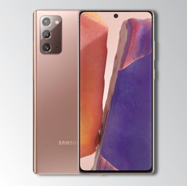 Samsung Note 20 Bronze Image 1
