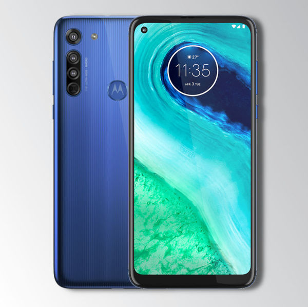 Motorola G8 Blue Image 1