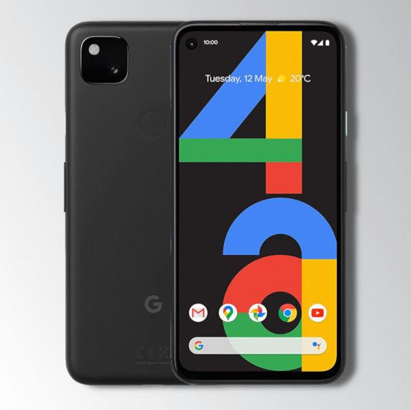 Google Pixel 4a Black Image 1