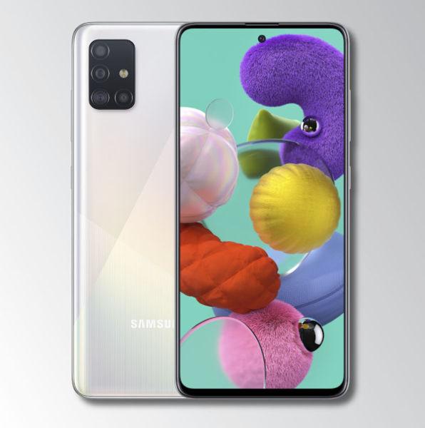 Samsung A51 White Image 1